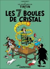 Couverture Les 7 Boules de cristal - Les Aventures de Tintin, tome 13
