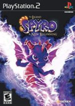 Jaquette The Legend of Spyro: A New Beginning