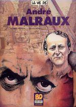 Couverture La vie d'André Malraux