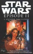 Couverture Star Wars : Épisode II - L'Attaque des clones