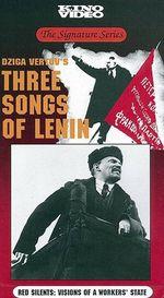 Affiche Trois chants sur lenine