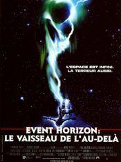 Affiche Event Horizon, le vaisseau de l'au-delà