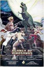 Affiche La planète des dinosaures