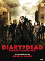 Affiche Diary of the Dead, chronique des morts vivants
