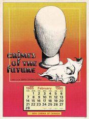 Affiche Crimes of the Future