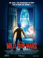 Affiche Milo sur Mars