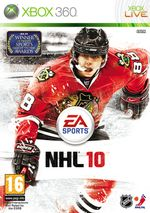 Jaquette NHL 10