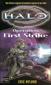 Couverture Opération First Strike - Halo, tome 3