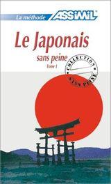 Couverture Le japonais sans peine