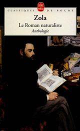 Couverture Le roman naturaliste