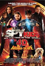 Affiche Spy Kids : All the Time in the World