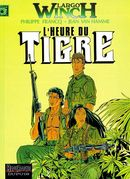 Couverture L'Heure du tigre - Largo Winch, tome 8