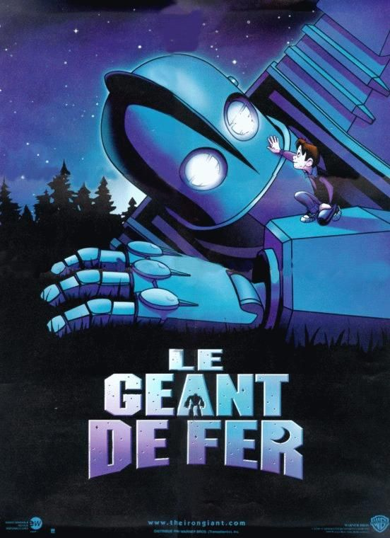 Le Géant de fer - Long-métrage d\'animation (1999) - SensCritique