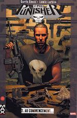 Couverture Au commencement... - The Punisher (Max Comics), tome 2