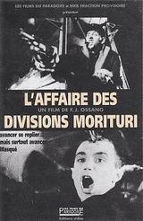 Affiche L'Affaire des divisions Morituri