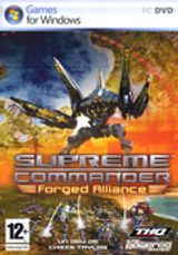 Jaquette Supreme Commander : Forged Alliance