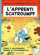 Couverture L'Apprenti schtroumpf - Les Schtroumpfs, tome 7