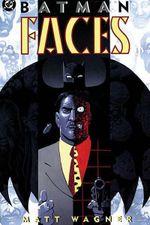 Couverture Batman : Faces