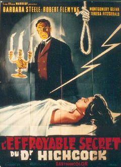 Affiche L'Effroyable secret du Dr. Hichcock