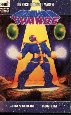 Couverture La Quête de Thanos