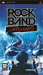 Jaquette Rock Band Unplugged