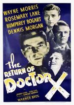 Affiche Le Retour du Docteur X
