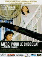 Affiche Merci pour le chocolat