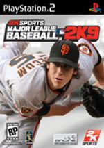 Jaquette Major League Baseball 2K9