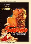 Affiche Susana la perverse