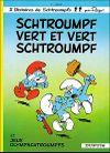 Couverture Schtroumpf vert et Vert Schtroumpf - Les Schtroumpfs, tome 9