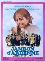 Affiche Jambon d'Ardenne