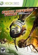 Jaquette Earth Defense Force : Insect Armageddon