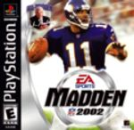 Jaquette Madden NFL 2002