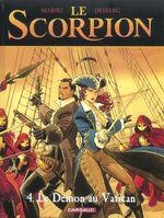Couverture Le Démon au Vatican - Le Scorpion, tome 4