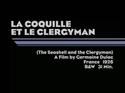 la coquille et le clergyman: