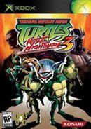Jaquette Teenage Mutant Ninja Turtles 3 : Mutant Nightmare