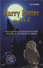 Couverture Harry Potter de A à Z