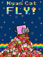 Jaquette Nyan Cat Fly!