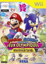 Jaquette Mario et Sonic aux Jeux Olympiques de Londres 2012