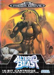 Jaquette Altered Beast