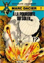 Couverture A la poursuite du soleil - Marc Dacier, tome 2