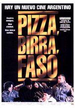 Affiche Pizza, bière et cigarettes