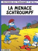 Couverture La menace Schtroumpf  - Les Schtroumpfs, tome 20