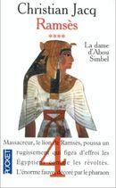 Couverture La Dame d'Abou Simbel - Ramsès, tome 4