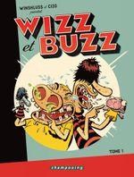 Couverture Wizz et Buzz, tome 1
