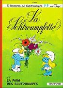 Couverture La Schtroumpfette - Les Schtroumpfs, tome 3