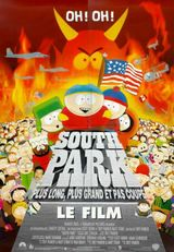 Affiche South Park, le film