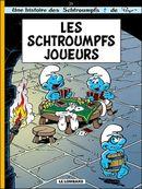 Couverture Les Schtroumpfs joueurs - Les Schtroumpfs, tome 23