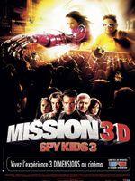 Affiche Mission 3D : Spy Kids 3