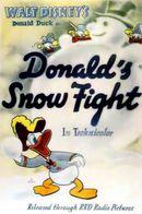 Affiche Donald bagarreur